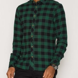 Solid Esref Shirt Kauluspaita Musta