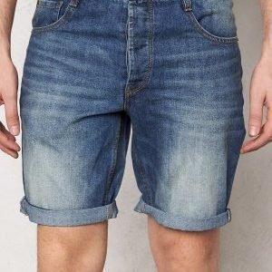 Solid Farrell Shorts 9070 Light Denim