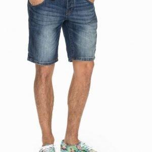 Solid Felix Denim Shorts