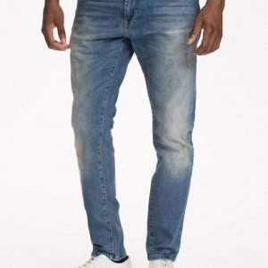 Solid Frank Stretch Jeans Farkut Light Blue