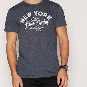 Solid Frej T-shirt T-paita Insignia Blue