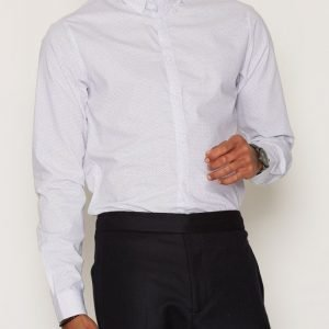 Solid Fu Shirt Kauluspaita White