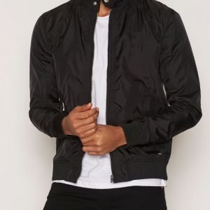 Solid Garnet Jacket Takki Black