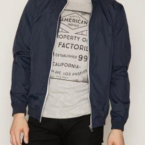 Solid Garren Jacket Takki Insignia Blue