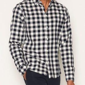 Solid Garret Shirt Kauluspaita Offwhite