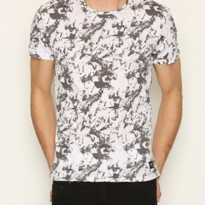 Solid Gibbie T-shirt T-paita White