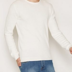 Solid Gyden Knit Pusero Offwhite