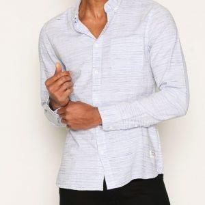Solid Haddon Shirt Kauluspaita Sky Blue