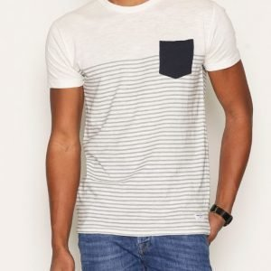 Solid Halle T-shirt T-paita Offwhite