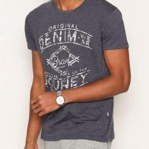 Solid Hansford T-shirt T-paita Navy