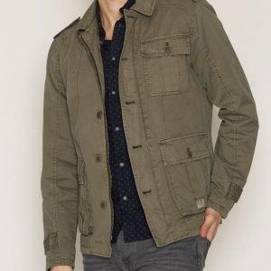 Solid Hardey Jacket Takki Olive