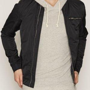 Solid Harlon Jacket Takki Black