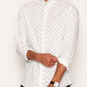 Solid Harm Shirt Kauluspaita White