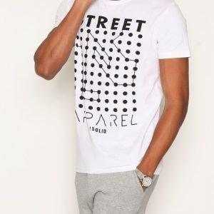 Solid Harpur T-shirt T-paita White