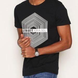 Solid Harris T-shirt T-paita Black