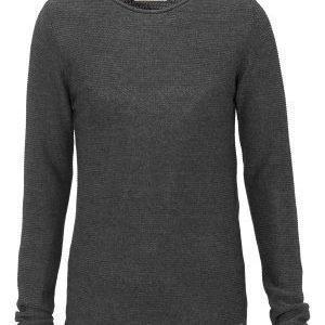 Solid Jarah Knit 8288 Dark Grey