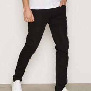 Solid Joy Stretch Jeans Farkut Black