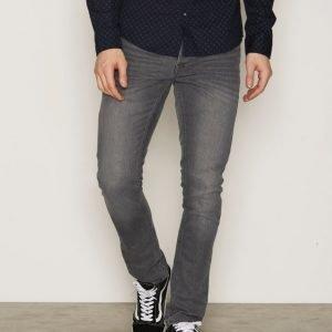 Solid Joy Stretch Jeans Farkut Dark Used