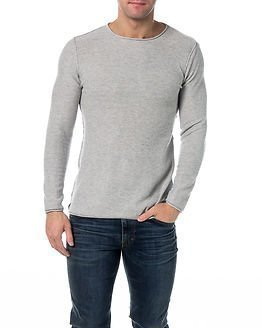 !Solid Knit Arliss Light Grey