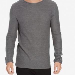 Solid Knit Jarah Pusero Grey Melange