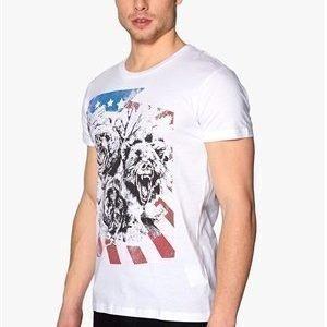 Solid Miswan T-shirt White