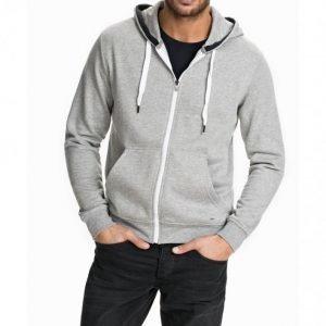 Solid Sweatshirt Deacon Pusero Light Grey Melange