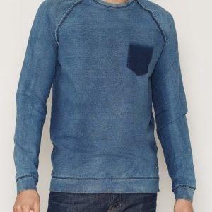 Solid Sweatshirt Gidie Pusero Peacoat