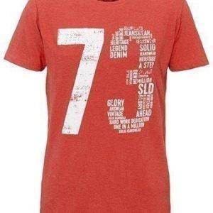 Solid T-paita Punainen