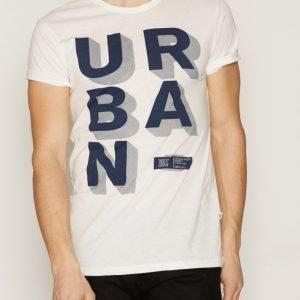 Solid T-shirt Genet T-paita Offwhite