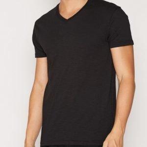 Solid T-shirt Ronal T-paita Black