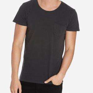 Solid T-shirt Sean T-paita Black