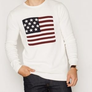 Solid Trevir Knit Pusero Offwhite