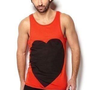 Somewear Heart Singlet Kermes