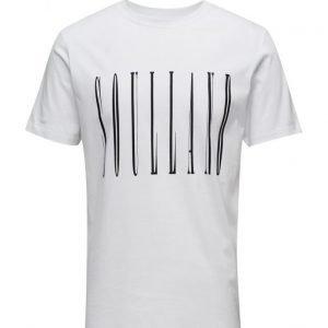 Soulland Aw16 Barker T-Shirt W. Print lyhythihainen t-paita