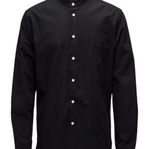 Soulland Aw16 Helgeson Shirt W. Mandarin Collar & Pocket