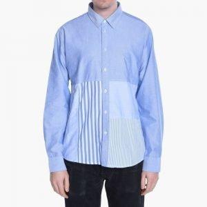 Soulland Miller Patchwork Shirt