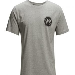 Soulland Nos Ribbon Tee Grey Melange lyhythihainen t-paita