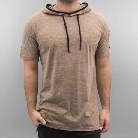 Southpole T-paita Ruskea