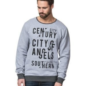 Speechless Century City Sweater Grey Melange