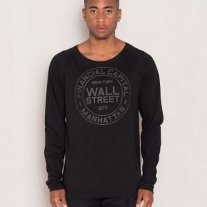 Speechless Wall Street Long Sleeve Black