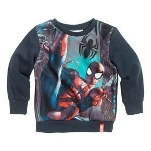 Spiderman Svetaripaita Siniharmaa