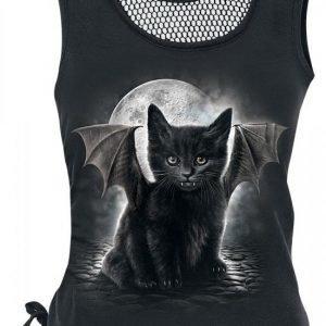 Spiral Bat Cat Naisten Toppi