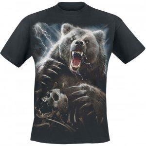 Spiral Bear Claws T-paita