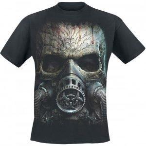 Spiral Bio Skull T-paita