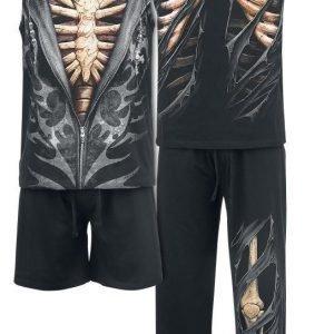Spiral Bone Rips Pyjama