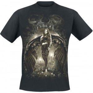 Spiral Dark Angel T-paita