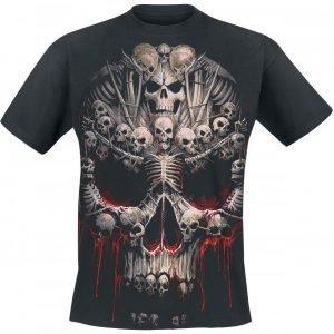 Spiral Death Bones T-paita