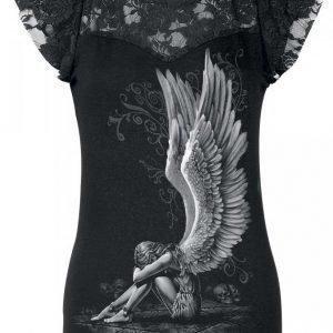 Spiral Enslaved Angel Naisten T-paita