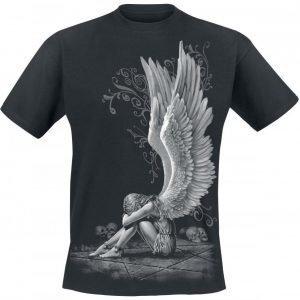 Spiral Enslaved Angel T-paita