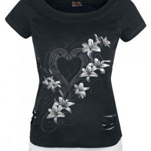 Spiral Pure Of Heart Naisten T-paita